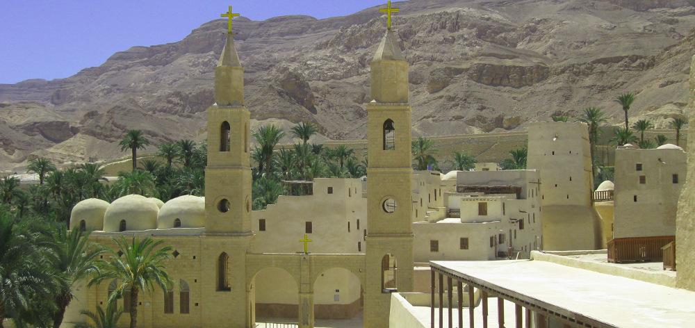 Монастыри Св.Антония и Св.Павла из Хургады