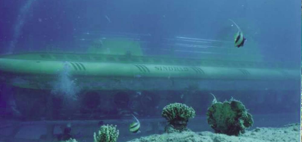 Погружение на подводной лодке Синдбад в Хургаде