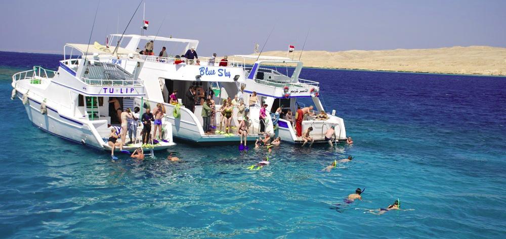 Райский остров - экскурсия к необитаемому острову из Хургады