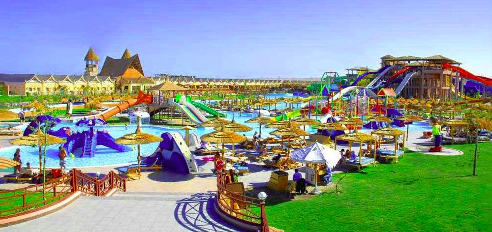 Посещение аквапарка Джунгли в Хургаде