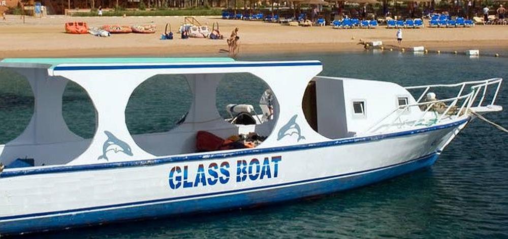 Путешествие на лодке с прозрачным дном в Хургаде
