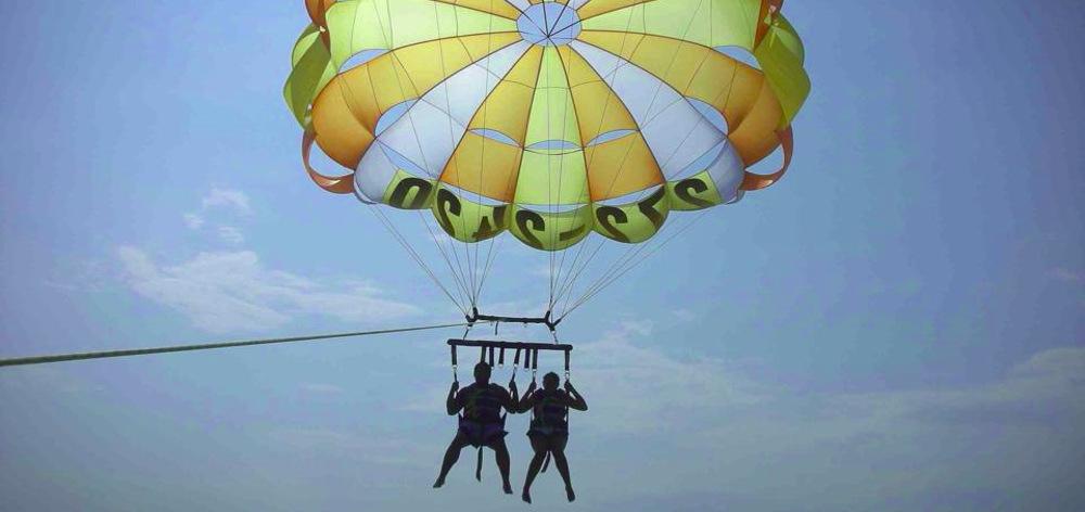 Полет на парашюте в Хургаде